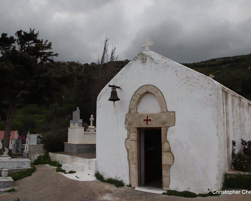 Ο Άγιος Γεώργιος με τα πεπόνια στον Κανένε Σητείας