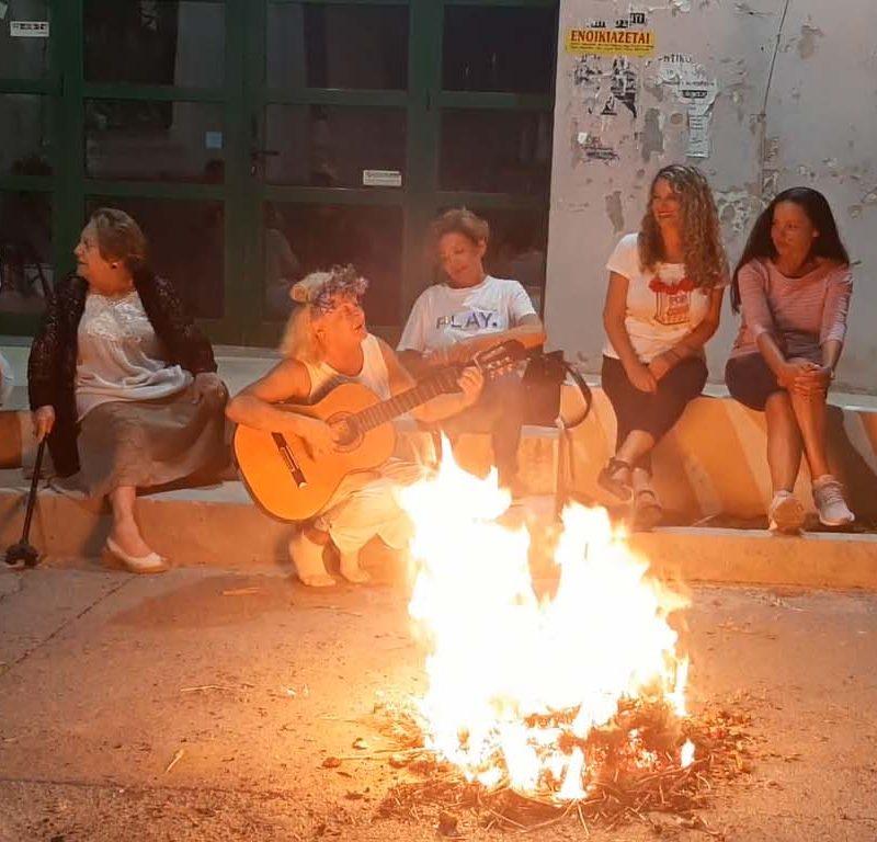 """""""ανάβουνε φωτιές στις γειτονιές"""" της Σητείας"""
