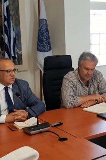 Ο Περιφερειακός Διευθυντής Εκπαίδευσης Κρήτης Μανόλη Καρτωνάκη στο Δήμο Σητείας