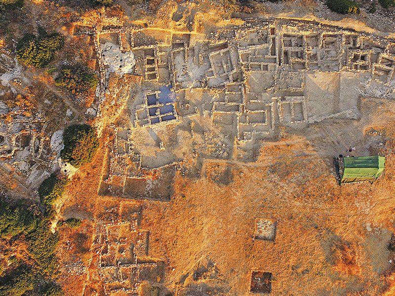 Μια σημαντική ανασκαφή 16 ετών στον Πετρά Σητείας