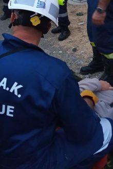 Αίσιο τέλος είχε η επιχείρηση διάσωσης 62χρονης Γαλλίδας στο φαράγγι του ''Ρίχτη''
