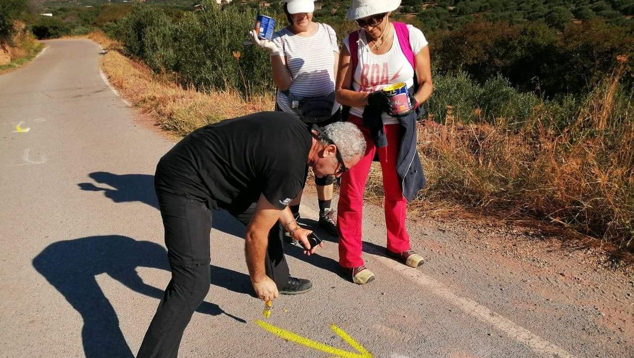 """Οι τελευταίες """"Πινελιές"""" για το 4ο Sitia Geopark Trail"""