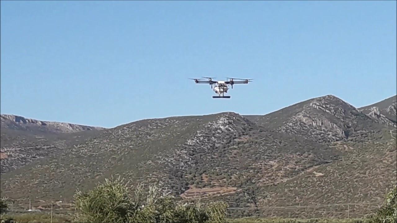 Πρωτοποριακό εξοπλισμό  με  drones για την πυροπροστασία χρηματοδότησε η Περιφέρεια Κρήτης