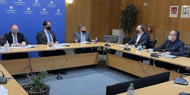 Σύσκεψη για το ΒΟΑΚ στο υπουργείο Υποδομών με τη συμμετοχή του Δημάρχου Σητείας