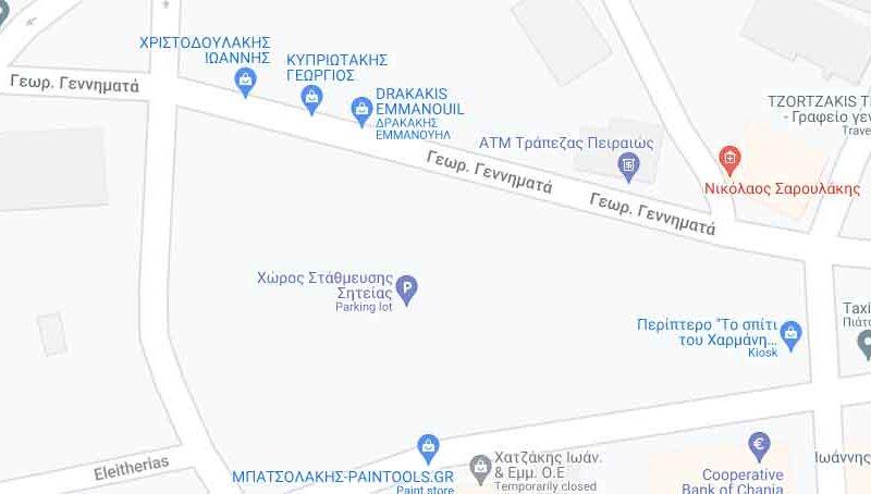 Νέους χώρους στάθμευσης αναζητά ο Δήμος Σητείας ενόψει της ανέγερσης του Δημαρχείου