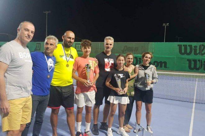 Ολοκληρώθηκε  το εσωτερικό τουρνουά του Ομίλου Αντισφαίρισης Σητείας